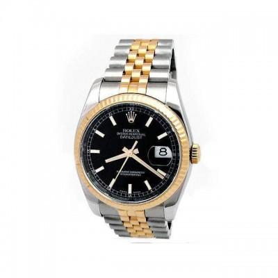 Mens Rolex Two-Tone Datejust 116233