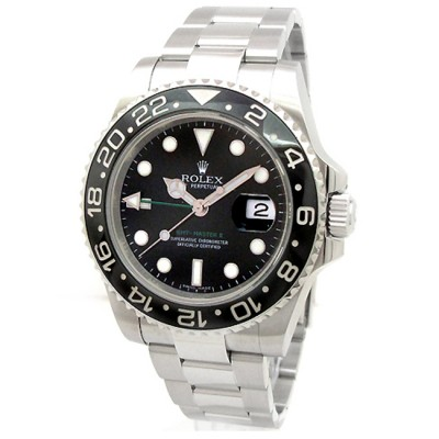 Mens Rolex Stainless Steel GMT-Master II 116710