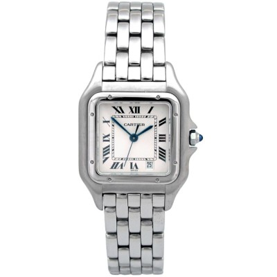 Midsize Cartier Stainless Steel Panthere Watch