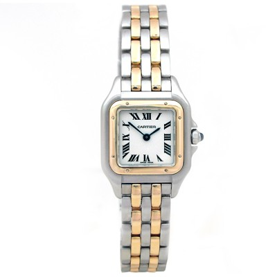 Small Cartier Two-Tone Panthere Watch