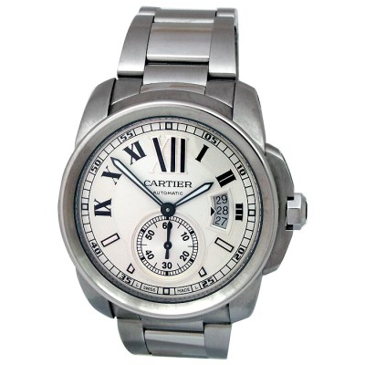 42mm Cartier Stainless Steel Calibre W7100015.