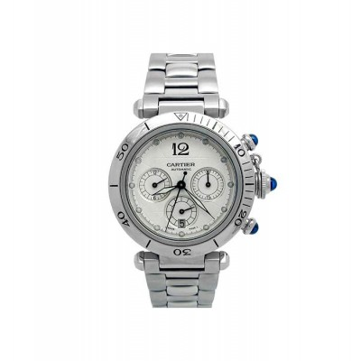 38mm Cartier Stainless Steel Pasha Watch