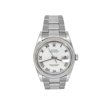 Rolex Stainless Steel Datejust Watch 34625