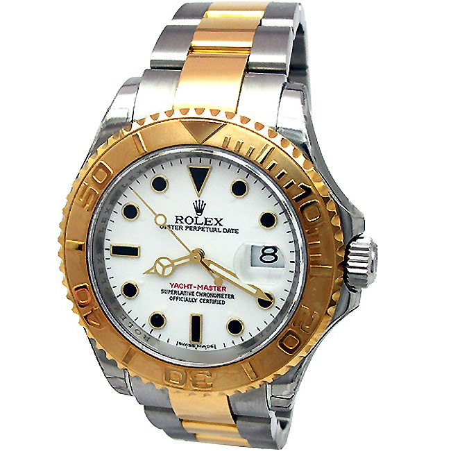 40mm Rolex Two Tone Yachtmaster  16623.