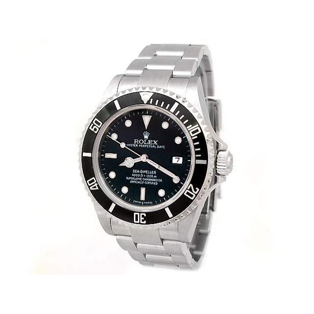 Mens Rolex Stainless Steel Sea Dweller 16600