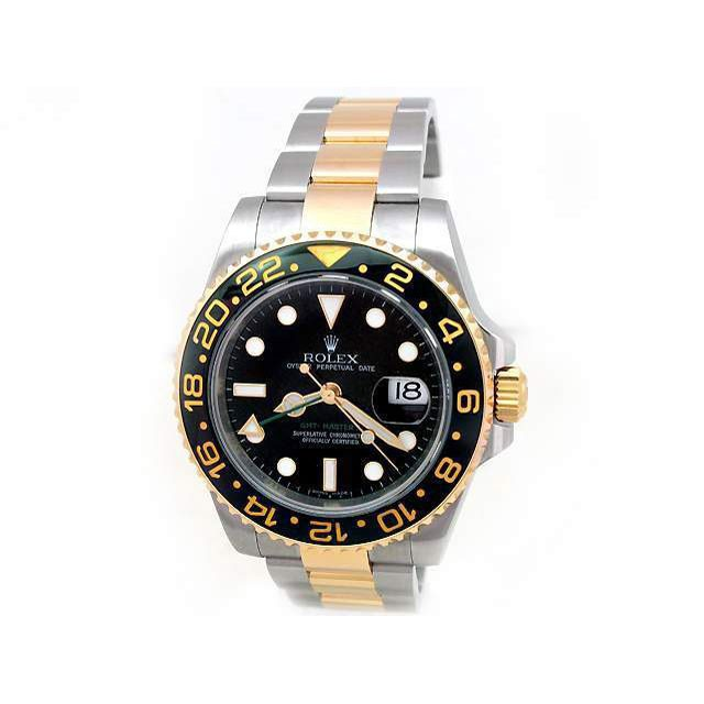 Mens Rolex Two-Tone GMT-Master II 116713