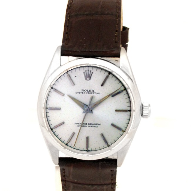 34mm Rolex Steel Oyster Perpetual Watch