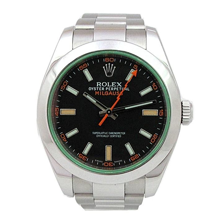 40mm Rolex Stainless Steel Milgauss Watch 116400GV.