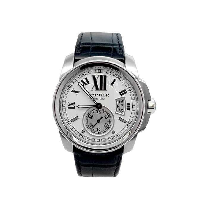 42mm Cartier Stainless Steel Calibre Watch W7100037