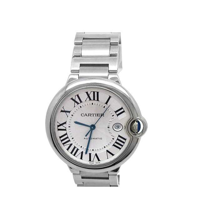 42mm Cartier Stainless Steel Ballon Bleu Watch W69012Z4
