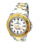 35mm  Rolex Two Tone Yachtmaster 168623.