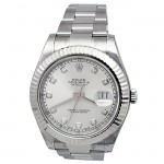 41mm Rolex Stainless Datejust II Diamond dial 116334.
