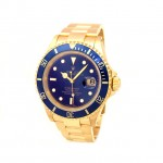 Mens Rolex Yellow Gold Submariner 16618