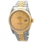 36mm Rolex 18k Gold & Stainless Steel Datejust 16233