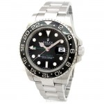 Mens Rolex Stainless Steel GMT-Master II Ceramic 116710