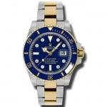 Mens Rolex Two Tone Submariner Ceramic 116613