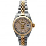 26mm Rolex Two-Tone Datejust  Diamond Dial 79173