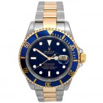 40mm Rolex TwoTone Submariner 16613