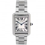 Ladies Cartier Stainless Steel Tank Solo  W5200013.