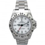 40mm Rolex Explorer II White Dial 16570