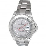 40mm Rolex Stainless Steel Yachtmaster with Platinum 16622