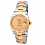 31mm Rolex 18k Gold & Stainless Steel Datejust  68273.
