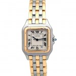 Large Cartier Two-Tone Panthere Watch.