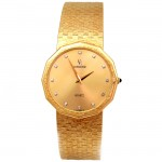 Large 18k Yellow Gold Concord Watch