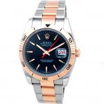 36mm Rolex Rose Gold Two Tone Datejust Turnograph 116261