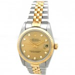 31mm Rolex Two-Tone Datejust Diamond 68273