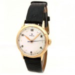 Midsize Omega Wadsworth 14k Gold Watch P6521