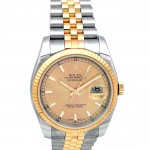 36mm Rolex Two-Tone Datejust 116233.