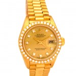 26mm Rolex 18K Gold Crown Collection 69138.