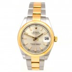 31mm Rolex Two-Tone Datejust Silver Dial 178243.