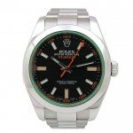 40mm Rolex Stainless Steel Milgauss Watch 116400GV.