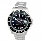 40mm Rolex Stainless Steel GMT-Master II Watch 16710.