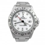 40mm Rolex Stainless Steel Explorer II Watch 16570.