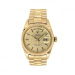 36mm Rolex 18k Yellow Gold Oyster Perpetual Daydate Watch 1803