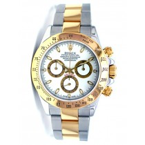 40mm Rolex Daytona Two-Tone White16523