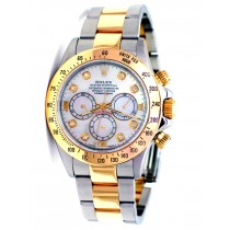 40mm Rolex Daytona  Two-Tone MOP Diamond 16523