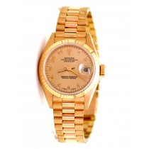 26mm Rolex 18K Yellow Gold President Datejust 69178