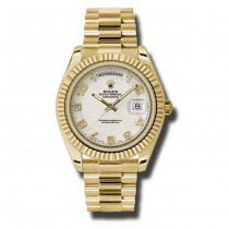41mm Rolex Yellow Gold Daydate II 218238.