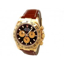 Men's Rolex 18k Yellow Gold Daytona  Black Paul Newman 116518.
