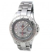 29mm Rolex Stainless Steel Platinum Yachtmaster 16962.