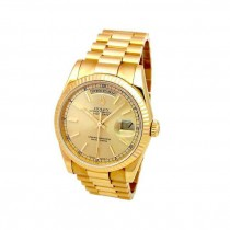 36mm Rolex Yellow Gold Daydate 118238
