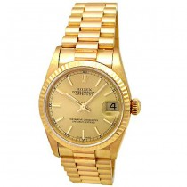 31mm Rolex Yellow Gold President Datejust 78278
