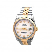 Mens Rolex Two-Tone Datejust 16233