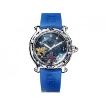 Midsize Chopard Stainless Steel Happy Sport Happy Beach 288347-3012.