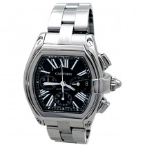 X-Large Cartier Stainless Steel Roadster