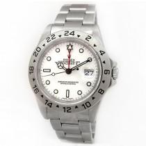 Mens Rolex Stainless Steel Explorer II 16570